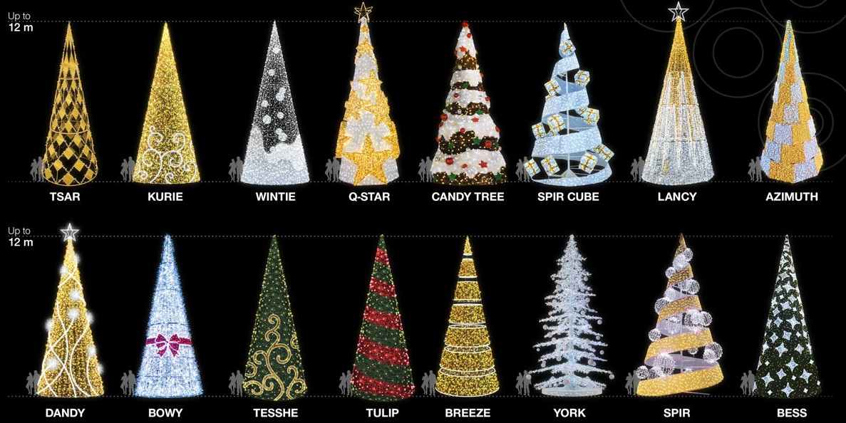 Contemporary Christmas Tree.Contemporary Christmas Trees Commercial Christmas Services